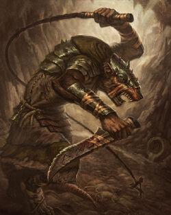Warhammer Skavne Packmaster