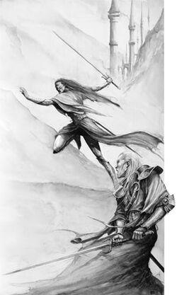 Eltharion and Belannaer