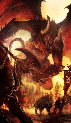 Warhammer Bloodthirsters of Khorne