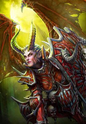 Warhammer Valkia the Bloody Art
