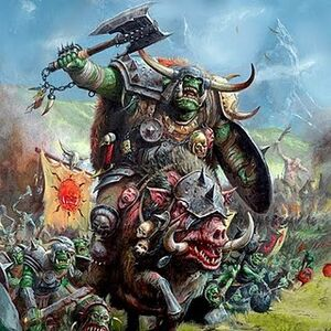 Orcs goblins army battalin picture cover gw warhammer