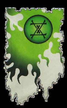 Warhammer Clan Vrrtkin Banner