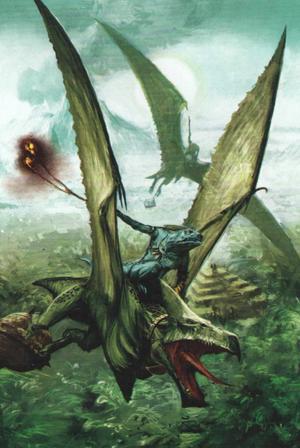 Warhammer Lizardmen Terradon Rider