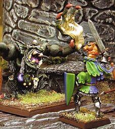 Sir DuCkaw facing a Troll in combat- 2016-12-10 20-57