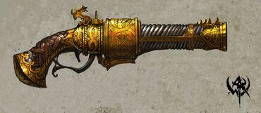 Dwarf handgun 1