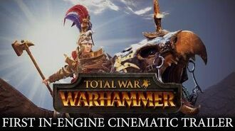 Total War WARHAMMER - In-Engine Trailer Karl Franz of the Empire ESRB