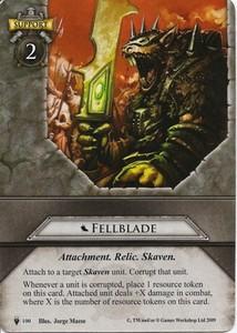 Fellblade card