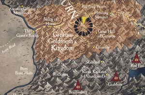Greasus Goldtooth's Kingdom Map