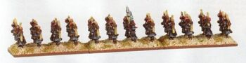 Arabian Bowmen Araby Warmaster Miniatures