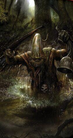 Warhammer Daemons of Chaos Plaguebearer