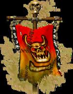 Morks war banner
