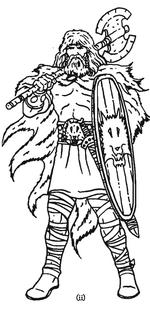 Warhammer Unberogen Warrior