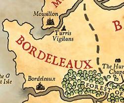Bordeleux map
