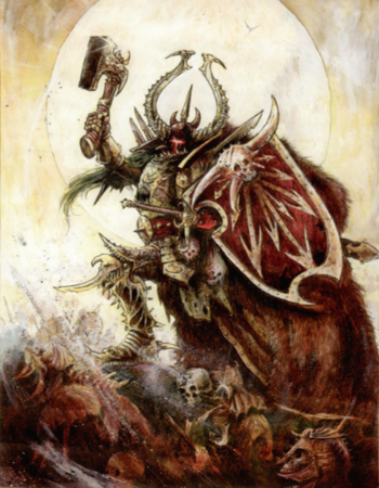 Harry the Hammer John Blanche 2008 7th Edition illustration