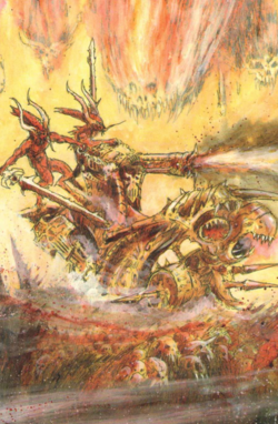 Warhammer Daemons of Chaos Skullcannon of Khorne