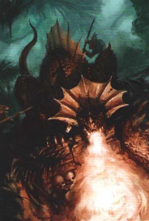 Warhammer Lizardmen Salamander