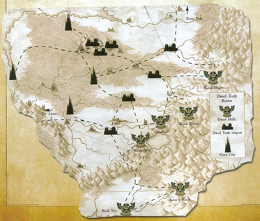 Dwarf Trade Routes