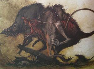 Warhammer Skaven Wolf Rats