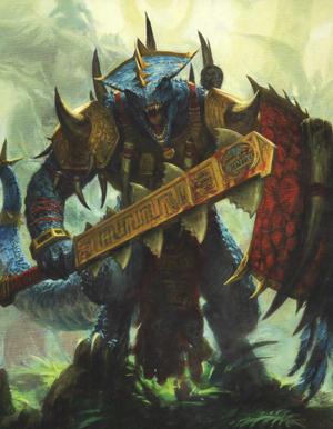 Warhammer Lizardmen Scar Veteran