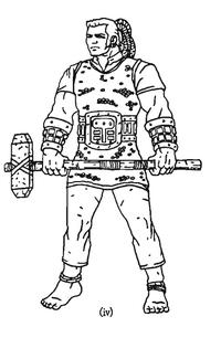 Warhammer Talueten Warrior