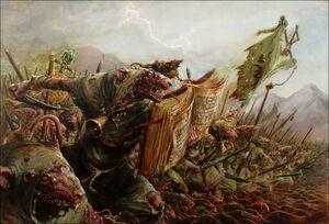 Warhammer Clan Pestilen Warfare