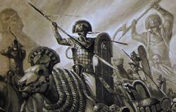 Warhammer Tomb Kings Battle Human