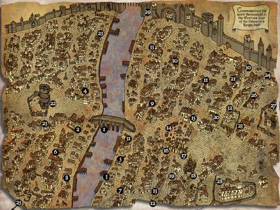 Map of Ubersreik