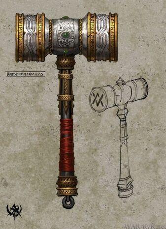 Dwarf Hammer concept