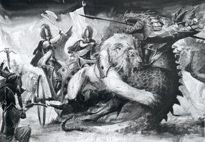 Lion Chariot
