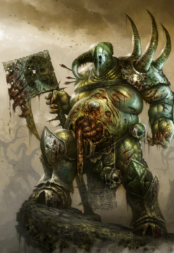Warhammer Champion of Nurgle