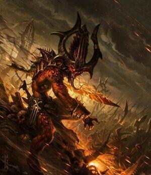 Warhammer Daemon of Chaos Bloodletter