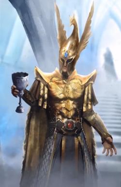 Bel Shanaar portrait Total War Warhammer 2