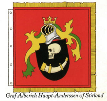 Graf Alberich Haupt-Anderssen of Stirland Coat of Arms