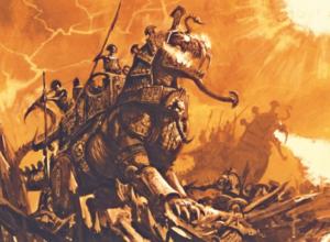Warhammer Tomb Kings Khemrian Warsphinx