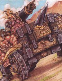 Dwarf Bolt Thrower Colour Illustration