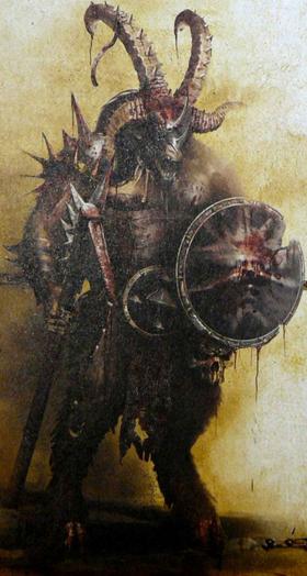 Warhammer Beastmen of Tamurkhan