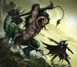 Warhammer Malus Darkblade Warpsword