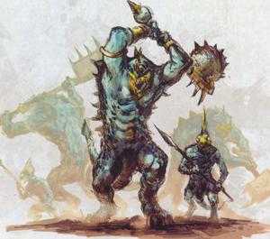 Warhammer Yellow-Crested Cohort