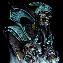 Warhammer Tomb Kings Liche Priest Art 2