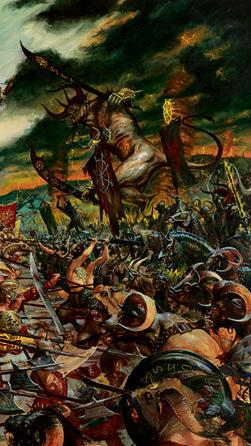 Beastmen war