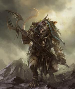 Warhammer Skaven Master Moulder