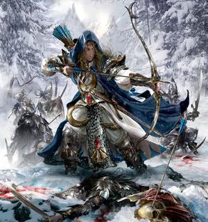 Warhammer Alith Anar Art
