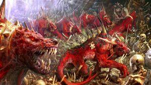 Warhammer Flesh Hounds Arts