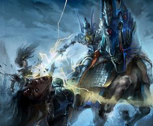 Warhammer High Elves invade