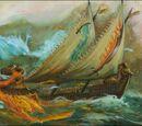 Flaming Scimitar