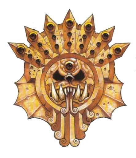 An ancient golden totem of the Lizardmen Empire