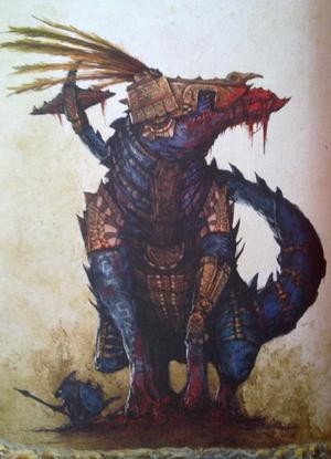 Warhammer Lizardmen Dread Saurian