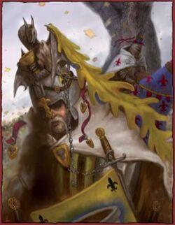 Caballero bretoniano con vigote (1)