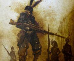 Jubal Falk and the Nuln Ironsides