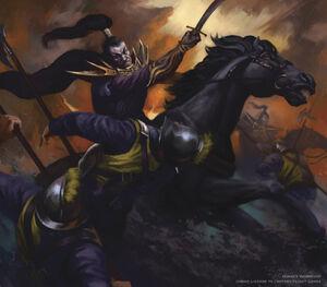 Warhammer Dark Elf Dark Rider